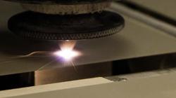 Laser machining on ceramics